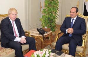 Foreign Secretary Boris Johnson & President el-Sisi