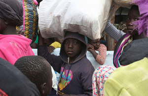 Read the 'Minister Wharton reinforces UK support for refugees in Uganda' article