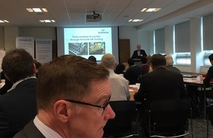 Brokering event for integrated innovation in nuclear decommissioning competition