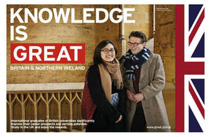 Study at British Universities event held by the British Embassy Luxembourg