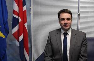 The British Ambassador Ruairí O'Connell writes about importance of gender equality in Kosovo