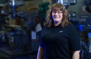 Fay, engineering apprentice at Dstl