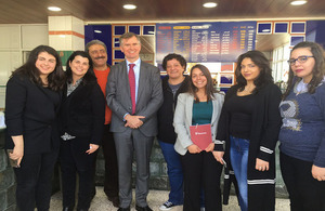 Ambassador Shorter visits UK funded projects in Zahle