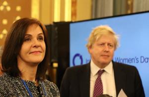 Special Envoy for Gender Equality, Joanna Roper