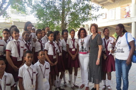 Baroness Anelay visits Colombia