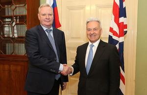 Alan Duncan meets Russian First Deputy Foreign minister