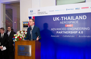 Innovate, Collaborate, Accelerate UK-Thailand 4.0