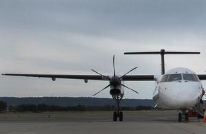Passenger aircraft.