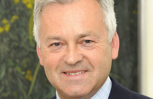 Photograph of Minister for Europe Alan Duncan