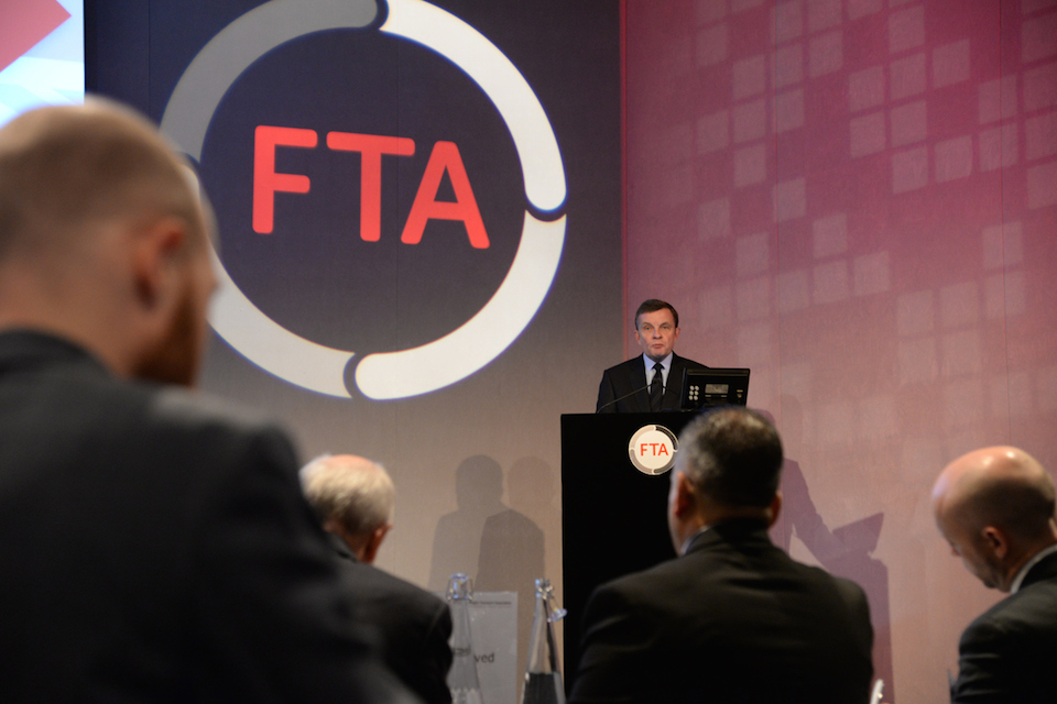 David Jones speech to the Freight Transport Association (FTA)' within 'Department for Exiting the European Union