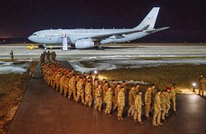 UK troops arrive in Estonia