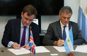 Government announces new support for UK businesses in Argentina