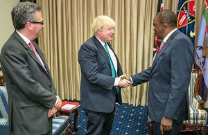 Foreign Secretary visits Kenya
