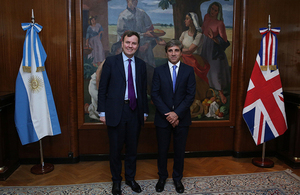 UK Minister of State for Trade and Investment announces £1 billion export credit support for trade with Argentina