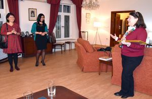 Chevening reception at the British Ambassador's residence