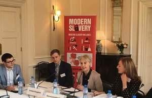 Modern Slavery Workshop Sofia