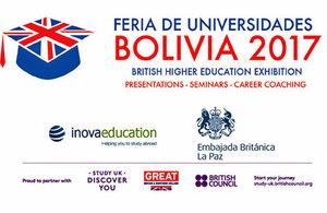 Feria de Universidades Británicas en Bolivia 2017