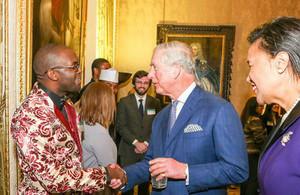 Charles Lipenga and Prince Charles
