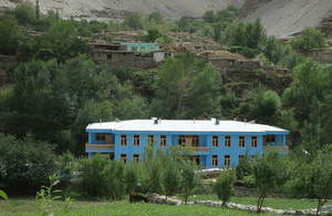 UK Supported New School Building in Afghanistan