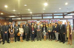 30 member UK trade delegation