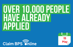 10,000 people have already applied for BPS in 2017