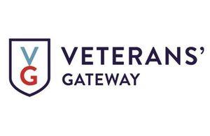 Veterans Gateway logo, Copyright Veterans Gateway