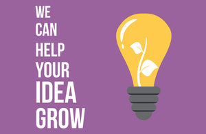 'We can help your idea grow' image