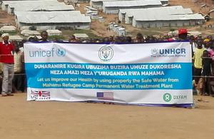 Rwanda water aid