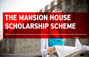 Mansion house scholarship available for study or training in the financial services sector An exciting opportunity to develop your career in the UK