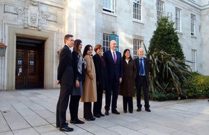 Cuban High level visit to the United Kingdom