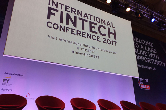 International FinTech Conference stage