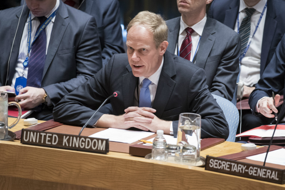 Matthew Rycroft UN Security Council