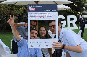 Participantes de los Start-Up Games Chile