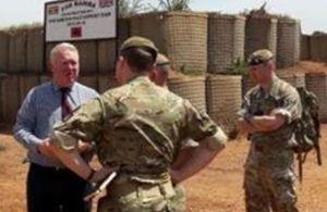 Armed Forces Minister visits Uganda