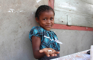 Read the 'UK to protect 200 million people from tropical diseases' article