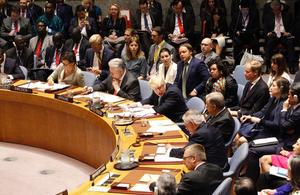 North Korea meeting at UN Security Council
