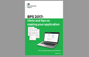 BPS 2017: Hints and tips document published