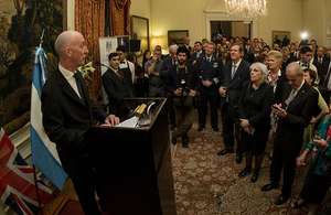 The Ambassador's speech at the Queen's Birthday Party in Argentina