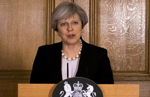 PM Statement on the terror threat level being raised to critical
