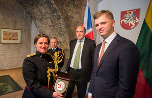 New Defence Attaché of the UK accredited to Lithuania