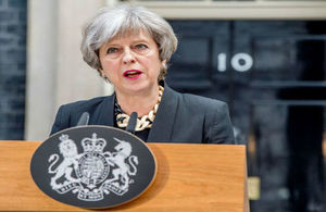 PM statement following London terror attack