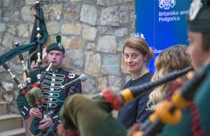 British Ambassador to Montenegro at Queen's Birthday Party