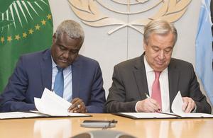 AU and UN partnership