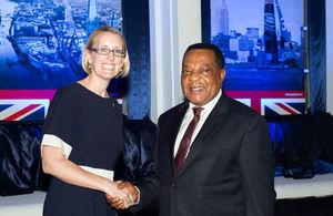 HE Sarah Cooke & Hon. Amb. Dr. Augustine Mahiga
