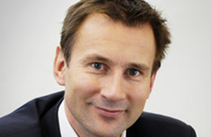 Sealth Secretary Jeremy Hunt