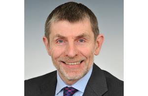 Jonathan Lyle, Dstl Chief Executive