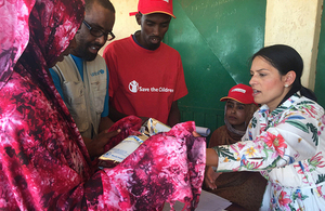 Read the 'Priti Patel: UK efforts save more lives in Somalia and Ethiopia' article