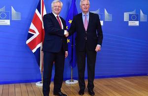 Brexit: David Davis opening remarks
