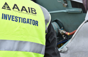 AAIB on site