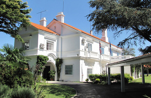 British Embassy Montevideo
